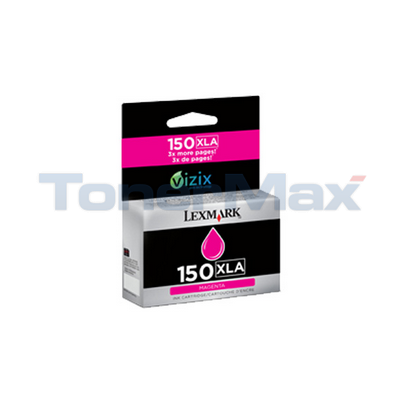 LEXMARK NO 150XLA INK CARTRIDGE MAGENTA HY